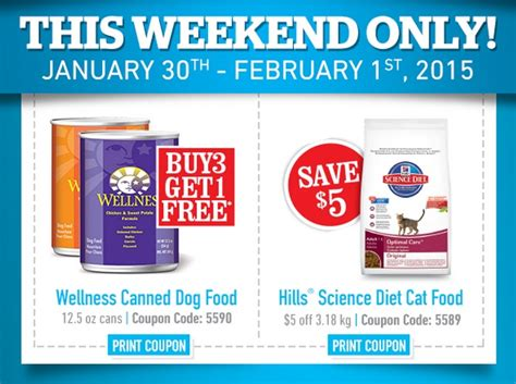dog food coupons wellness this weekend only at pet valu click here for coupons