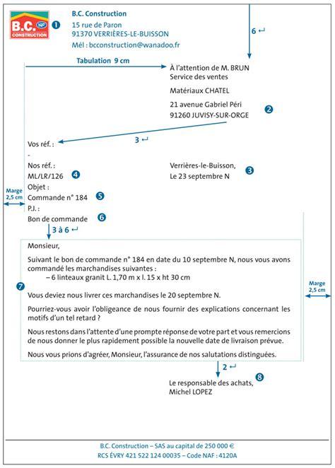 Presentation De Lettre Commerciale Fiche Ressource 17 La Pr 233 Sentation De La Lettre Commerciale Ou Administrative