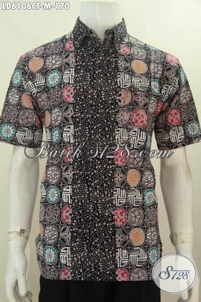 desain baju batik unik baju batik hem lengan pendek keren dan unik baju batik