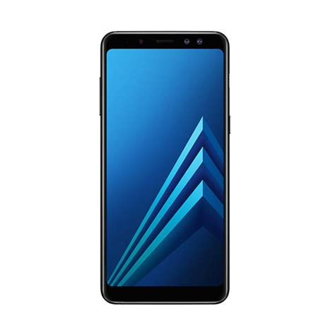 jual samsung galaxy a8 2018 smartphone hitam 32 gb 4