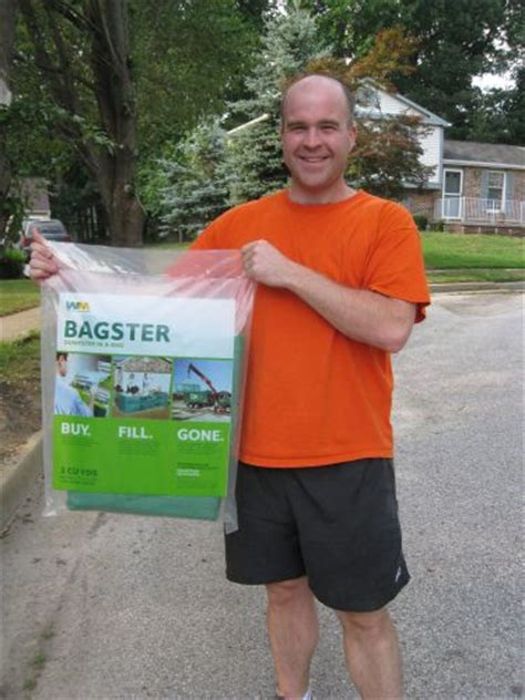 bagster review waste management s alternative to dumpster