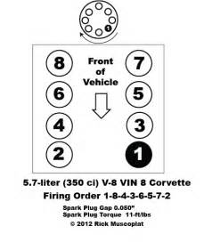 5 7 v 8 vin 8 firing order ricks free auto repair advice