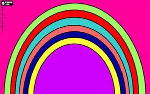 arco iris coloring printable arco iris