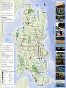 bainbridge map bainbridge island hiking and biking map bainbridge