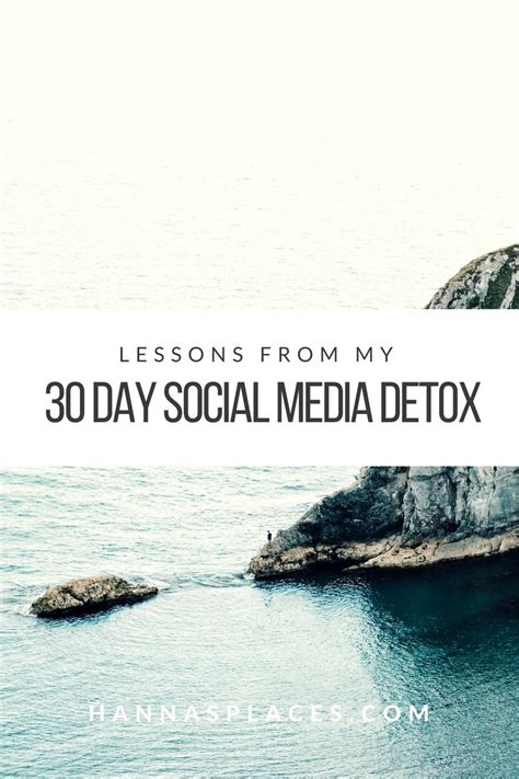 What S A Social Detox by 30 Day Social Media Detox My Lessons And Tips For You