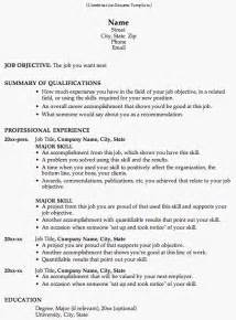 Resume Samples Format Combination Resume Template