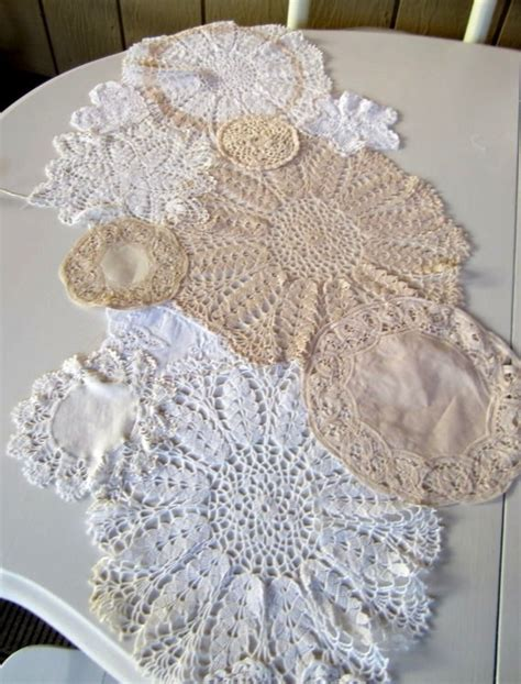 shabby chic table runners 1000 images about shabby chic table runners on