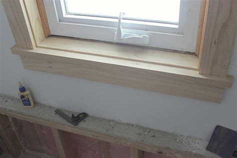 Finishing Window Sills How To Install Craftsman Style Window Trim School Of