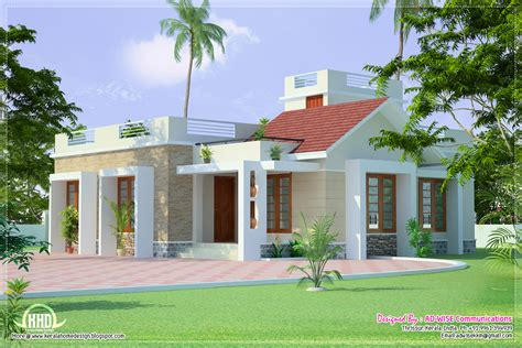 Home Exterior Design Plans | three fantastic house exterior designs home kerala plans