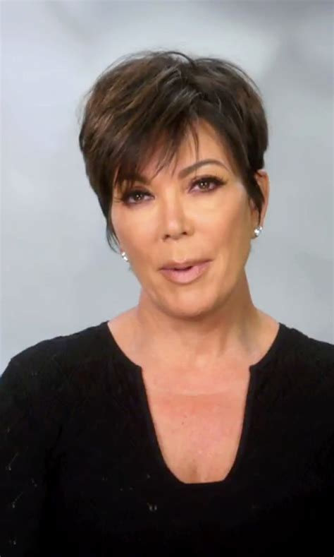 Does Kris Jenner Have A Long Neck For Short Hair | kris jenner fashion and clothes thetake
