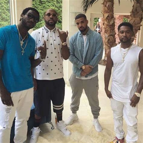 young thug house illroots young thug drake visit gucci mane s house