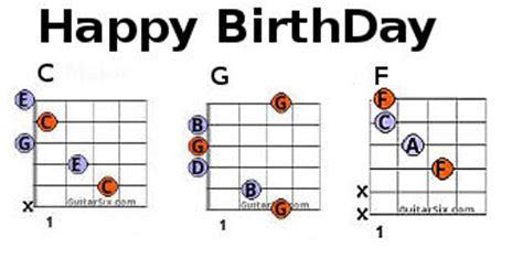 tutorial guitar happy birthday guitar tabs