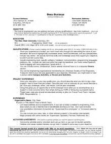 Resume For Work Experience Sle by Professional Experience Resume Exle Jianbochen