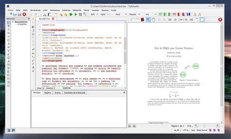 tutorial de como usar latex c 243 mo instalar y usar latex en windows