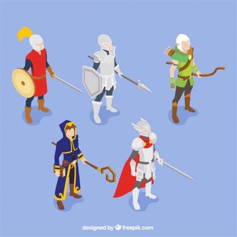 Personnages De Jeux by Ensemble De Personnages De Jeu De R 244 Le T 233 L 233 Charger Des