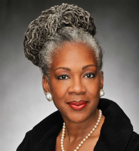 youngest black woman with grey hair black african american women with natural gray hair