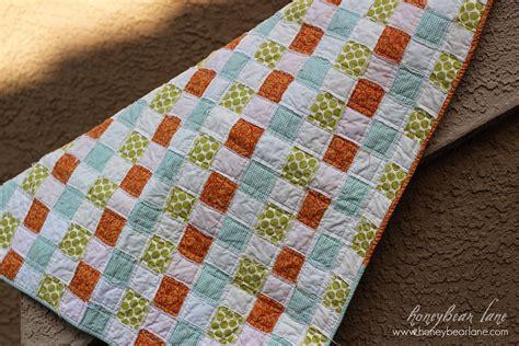 tutorial quilting technique basketweave quilt pattern honeybear lane