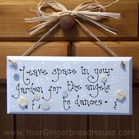 Handmade Garden Signs - your gingerbread house garden signs handmade wooden