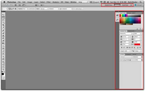 typography workspace photoshop adobe cs cc tcs applications the importance of custom