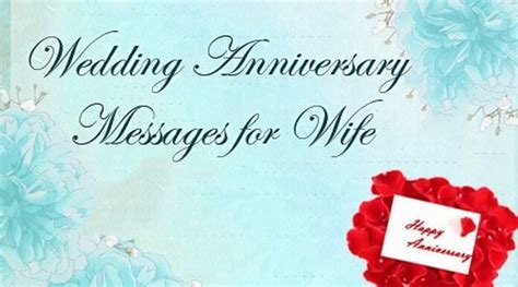 Wedding Anniversary Messages for Wife