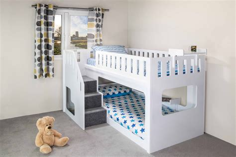 bunk beds for kids with stairs the plans of bunk beds with stairs the wooden houses