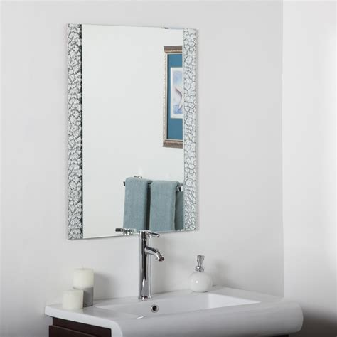 How To Decorate Bathroom Mirror Decor Ssm5039s Vanity Bathroom Mirror Homeclick