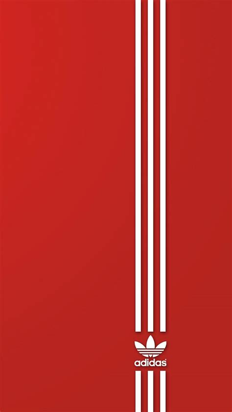 adidas wallpaper red 3wallpaperswallpaper hd iphone x 8 7 6 brand adidas