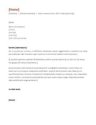 lettere curriculum curriculum e lettere di presentazione office