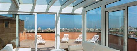 verande per terrazzi smontabili verande mobili baltera