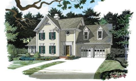 european style house plan 4 beds 2 50 baths 2333 sq ft