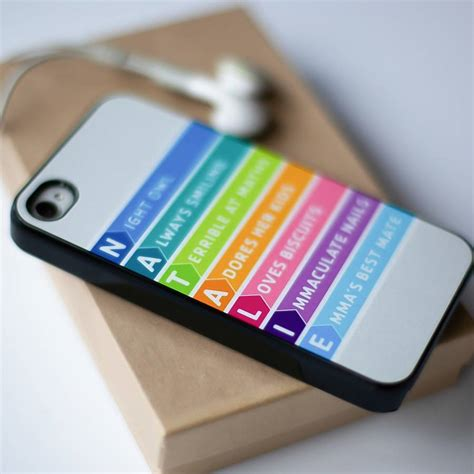 personalised smart phone case by elephant grey