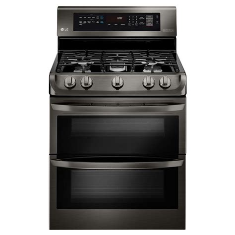Oven Gas Lg lg electronics 6 9 cu ft oven gas range with