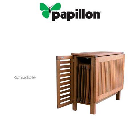 tavolo richiudibile con sedie set richiudibile tavolo 4 sedie per esterni legno balau