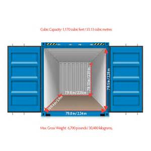 loading a 20 foot shipping container save 70