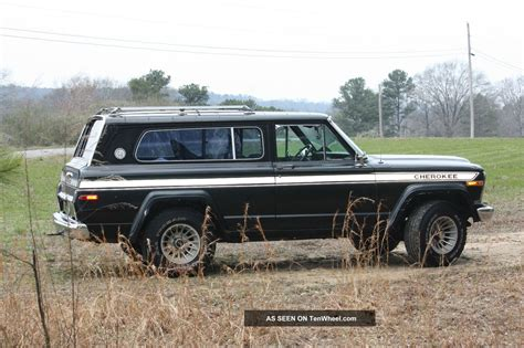 1979 Jeep Cherokee Chief Quadratrac