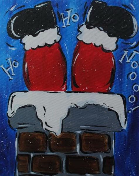 prop up some art 15 easy christmas decorations real simple 15 easy canvas painting ideas for christmas noted list