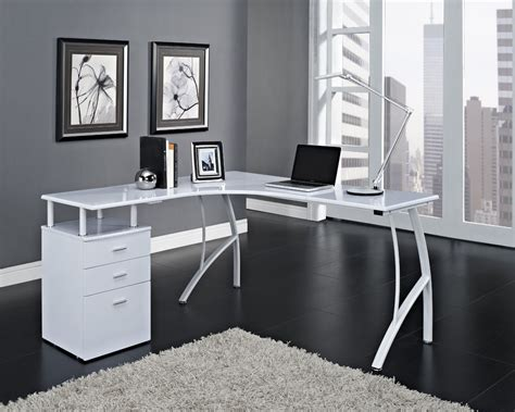 White Corner Desk House Ideas Desk Bedroom Pinterest White Corner Computer Desks For Home