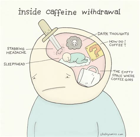 Msg Caffeine Detox Time by Sticky Comics Inside Caffeine Withdrawal