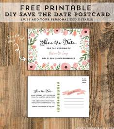 free printable save the date templates you ll love