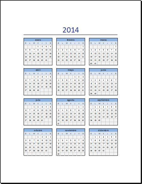 Calendario Noviembre 2014 Calendario Noviembre 2014 En Excel Calendario 2014 Para