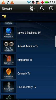 tivo app for android tivo app arrives on android ubergizmo