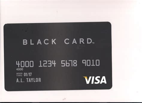 Credit Card Black Template The Blackest Credit Card In The World