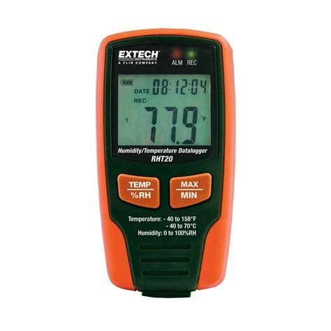 Extech Rht 10 Temperature Humidity Usb Datalogger Rht 10 Temperatur extech instruments humidity and temperature data logger