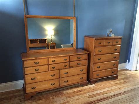 1960s bedroom furniture hard rock maple bedroom suite c 1960 my antique