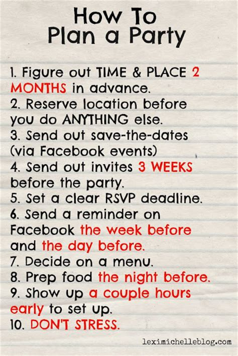 steps to planning office party how to plan a birthday