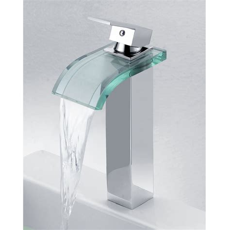 sink fossett elite 8866c new style led light water faucet tap 3 color