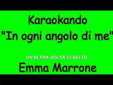 in ogni angolo di me testo karaoke italiano in ogni angolo di me marrone