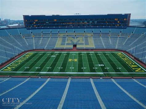 big house michigan tour the big house michigan stadium city style and livingcity style and living