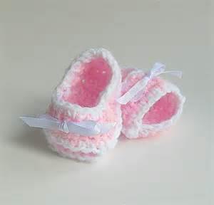 Newborn baby girl pink booties gender grandparents pregnancy reveal