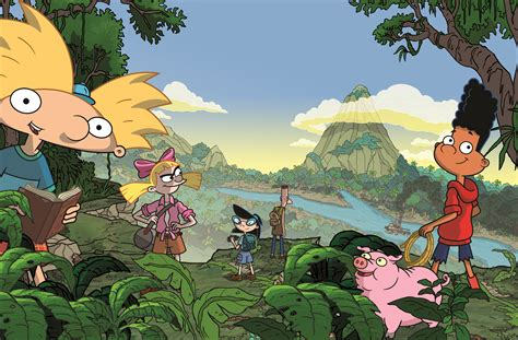 hey arnold the jungle hey arnold toran on nickelodeon s tv collider